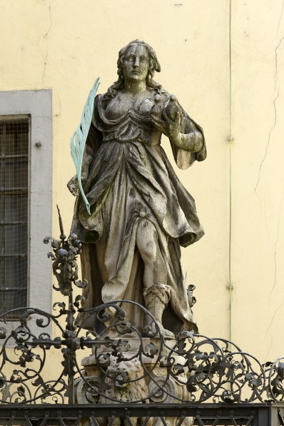 Friedensbrunnen im Alten Rathaus (Foto: Peter Ferstl, Stadt Regensburg)